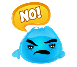 Cute and adorable jelly stickers sticker #642849