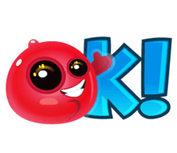 Cute and adorable jelly stickers sticker #642850