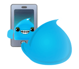 Cute and adorable jelly stickers sticker #642857