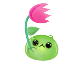 Cute and adorable jelly stickers sticker #642858