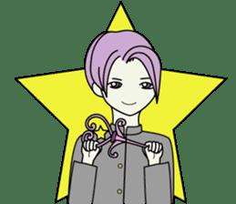 GAKURAN BOY of wizard sticker #643146
