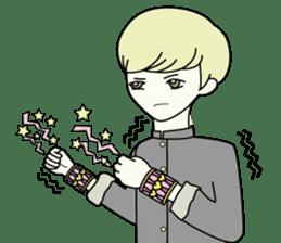 GAKURAN BOY of wizard sticker #643152