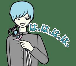 GAKURAN BOY of wizard sticker #643160