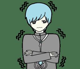 GAKURAN BOY of wizard sticker #643162