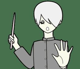 GAKURAN BOY of wizard sticker #643166
