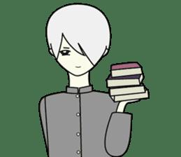 GAKURAN BOY of wizard sticker #643167