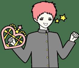 GAKURAN BOY of wizard sticker #643176