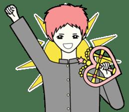 GAKURAN BOY of wizard sticker #643177