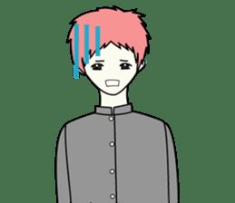 GAKURAN BOY of wizard sticker #643178