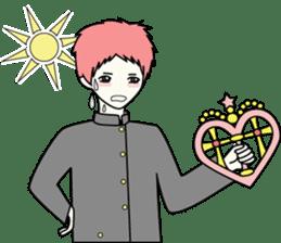 GAKURAN BOY of wizard sticker #643180