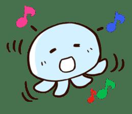 Pretty jellyfish sticker #643399