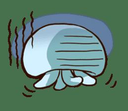Pretty jellyfish sticker #643401