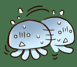 Pretty jellyfish sticker #643403
