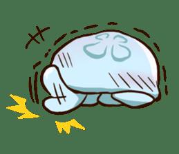 Pretty jellyfish sticker #643405