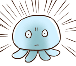 Pretty jellyfish sticker #643406