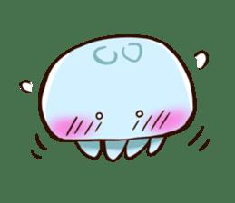 Pretty jellyfish sticker #643407