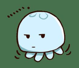 Pretty jellyfish sticker #643412
