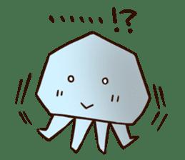 Pretty jellyfish sticker #643413