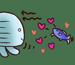 Pretty jellyfish sticker #643422
