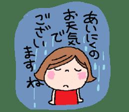 Japanese ozyousama sticker #643708