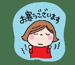 Japanese ozyousama sticker #643709