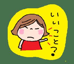 Japanese ozyousama sticker #643721