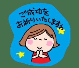 Japanese ozyousama sticker #643729