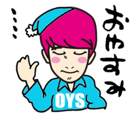 Every day of K-Boy vol.1 sticker #643855