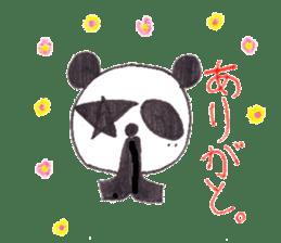 PANDA No92 sticker #643987