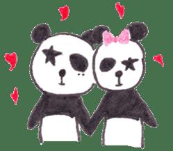 PANDA No92 sticker #643999