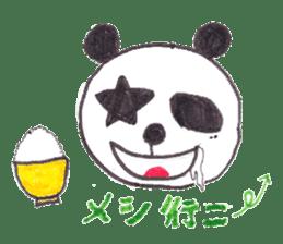 PANDA No92 sticker #644008