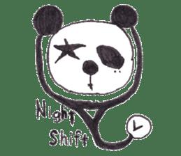PANDA No92 sticker #644011