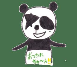 PANDA No92 sticker #644015