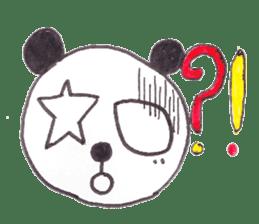 PANDA No92 sticker #644021