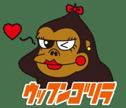 uffun-gorilla sticker #644746