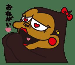uffun-gorilla sticker #644755