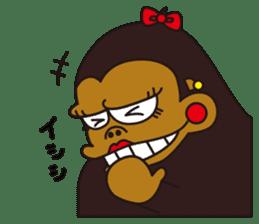 uffun-gorilla sticker #644760