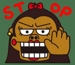 uffun-gorilla sticker #644763