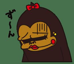 uffun-gorilla sticker #644769