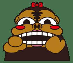 uffun-gorilla sticker #644780