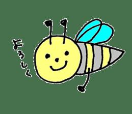 a worker bee sticker #644946