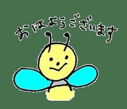 a worker bee sticker #644947