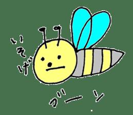 a worker bee sticker #644950