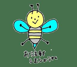 a worker bee sticker #644954