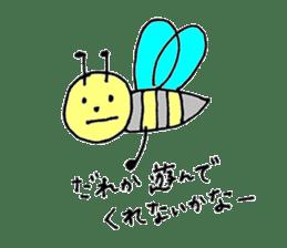 a worker bee sticker #644955