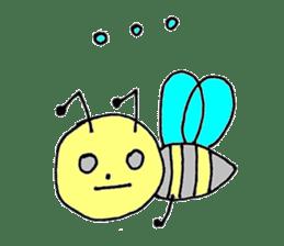 a worker bee sticker #644956