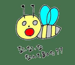 a worker bee sticker #644967