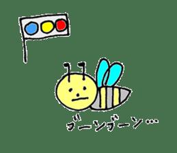 a worker bee sticker #644968