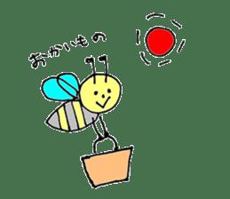 a worker bee sticker #644971