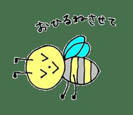 a worker bee sticker #644972